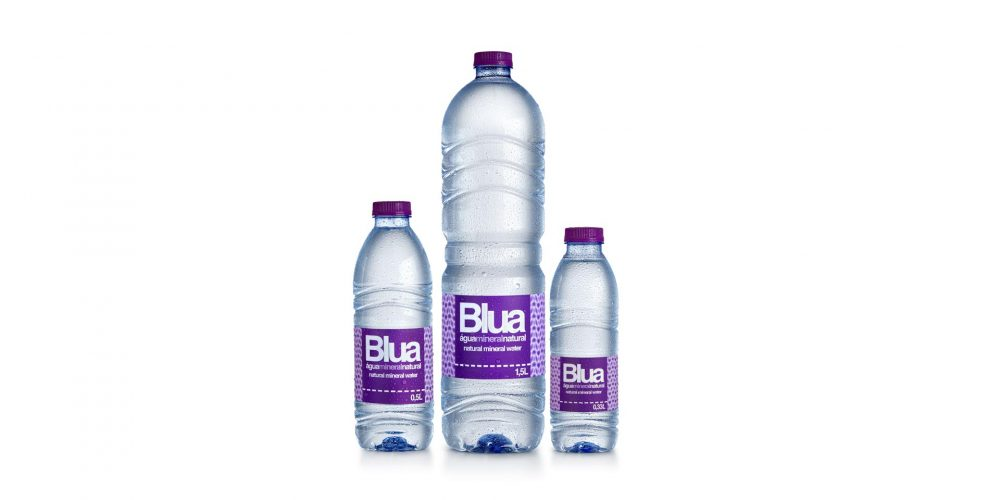 Marca de águas Blua® chega ao mercado